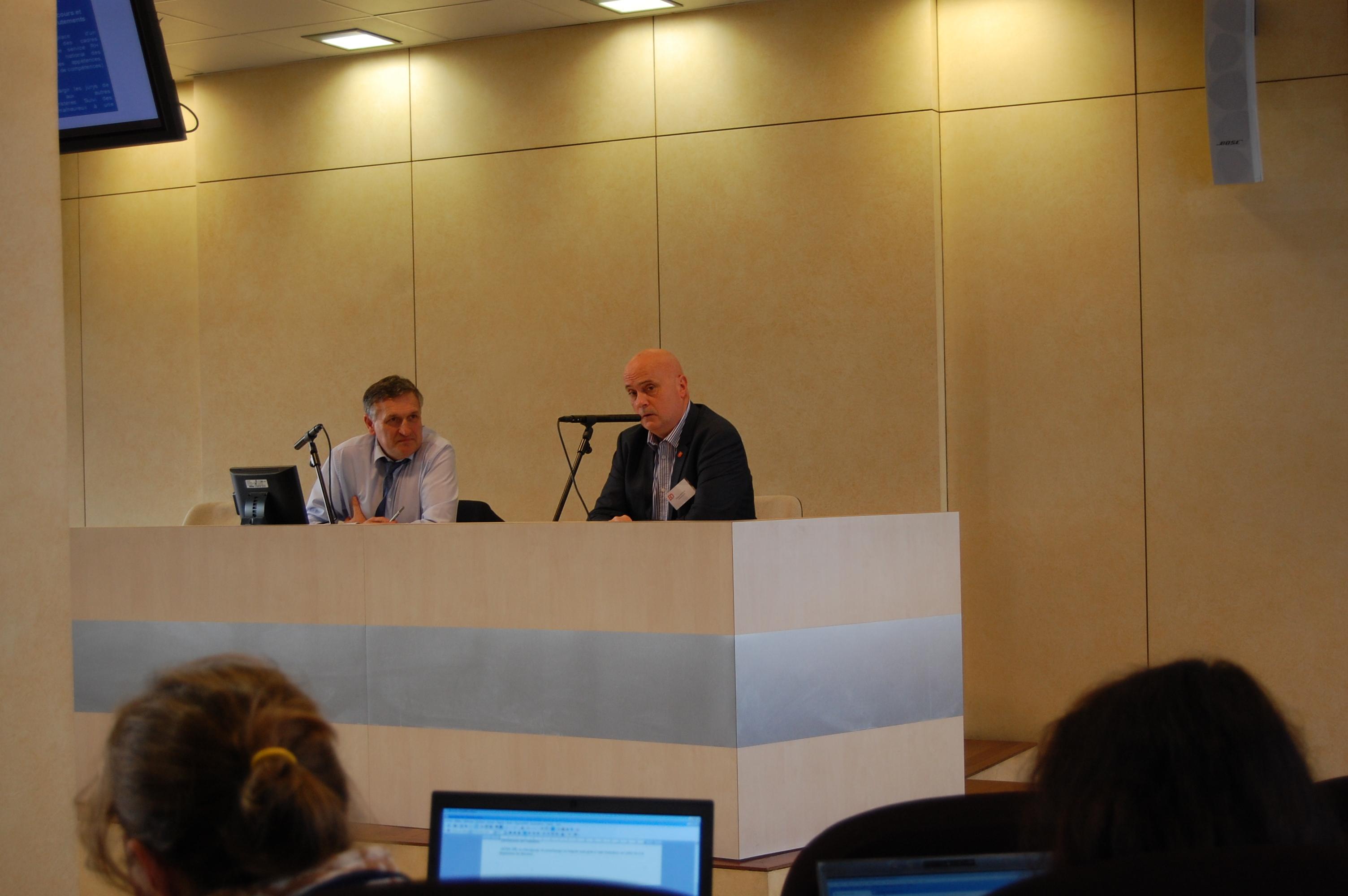 Pdt SNCDFiP et Jacques DEFFIEUX SG SNCD Douanes 2007 à 17